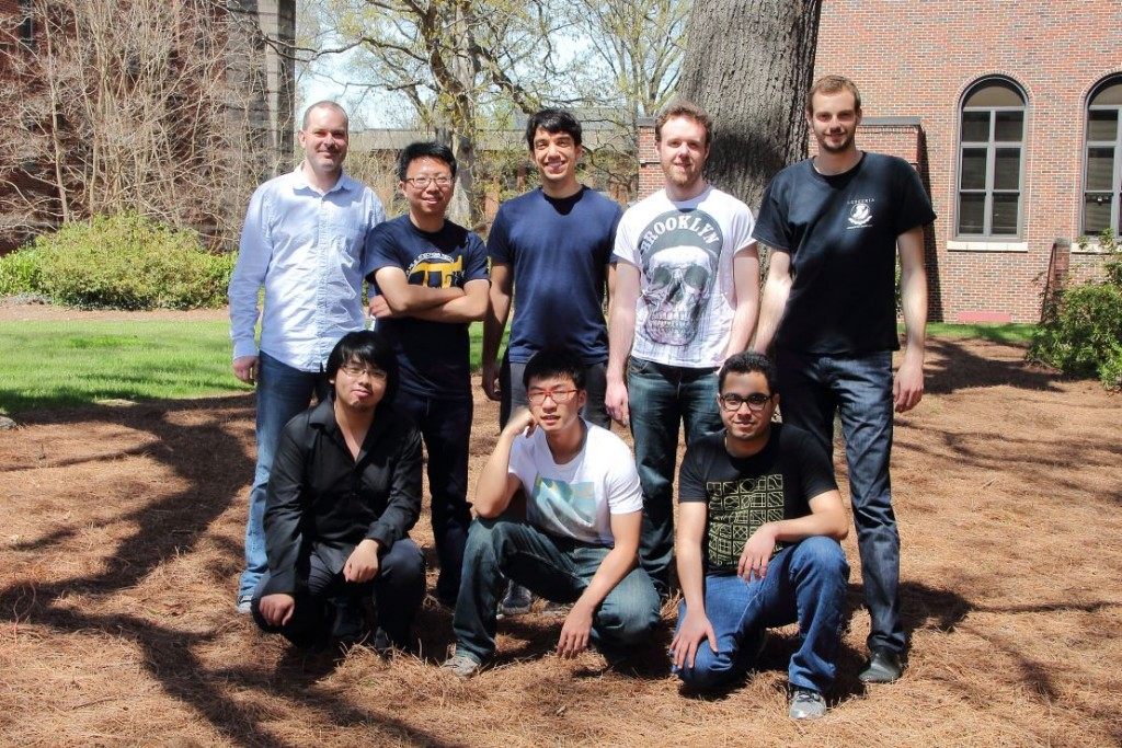 Music Informatics Group in April 2015